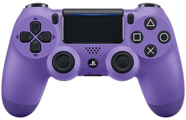 Controller Wireless, DualShock 4, electric purple, Sony- PS4 .