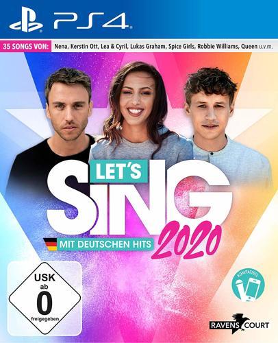 Let's Sing 2020 mit deutschen Hits - PS4 .