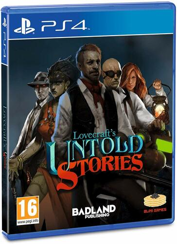Lovecrafts Untold Stories - PS4 [EU Version] .