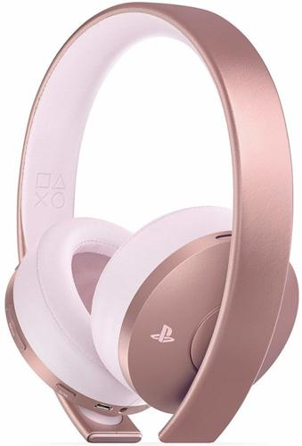 Headset Gold 7.1 VR, Wireless, rose gold, Sony - PS3/PS4/PSV