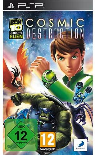 ben 10 ultimate alien cosmic destruction psp g nstig. Black Bedroom Furniture Sets. Home Design Ideas