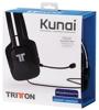 Headset Kunai Stereo, schwarz, Tritton - PS3/PS4/PSV/WiiU