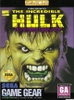 The Incredible Hulk, gebraucht - Game Gear