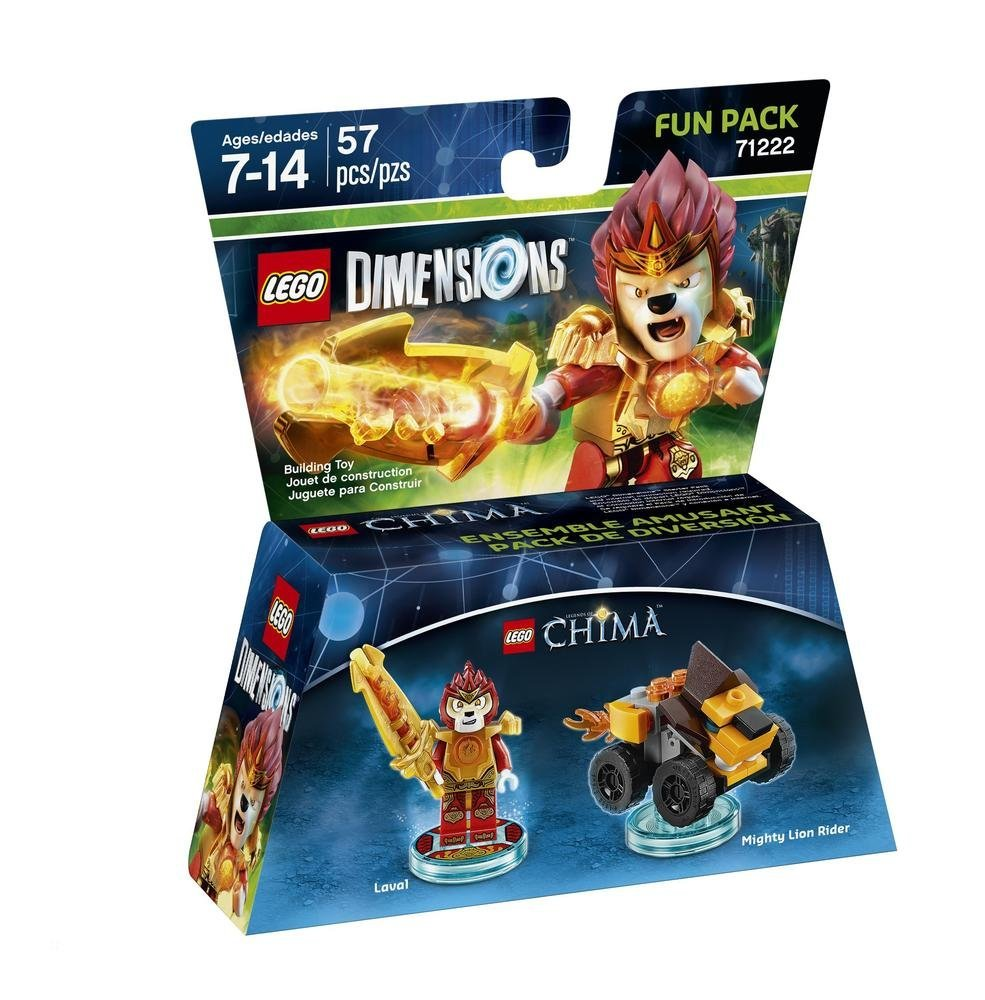 LEGO Dimensions - Fun Pack Chima Laval