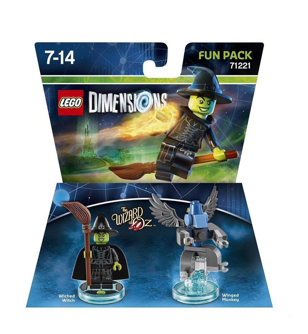 LEGO Dimensions - Fun Pack Wizard of Oz Böse Hexe
