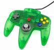 Controller, grün transparent, TTX-Tech - N64