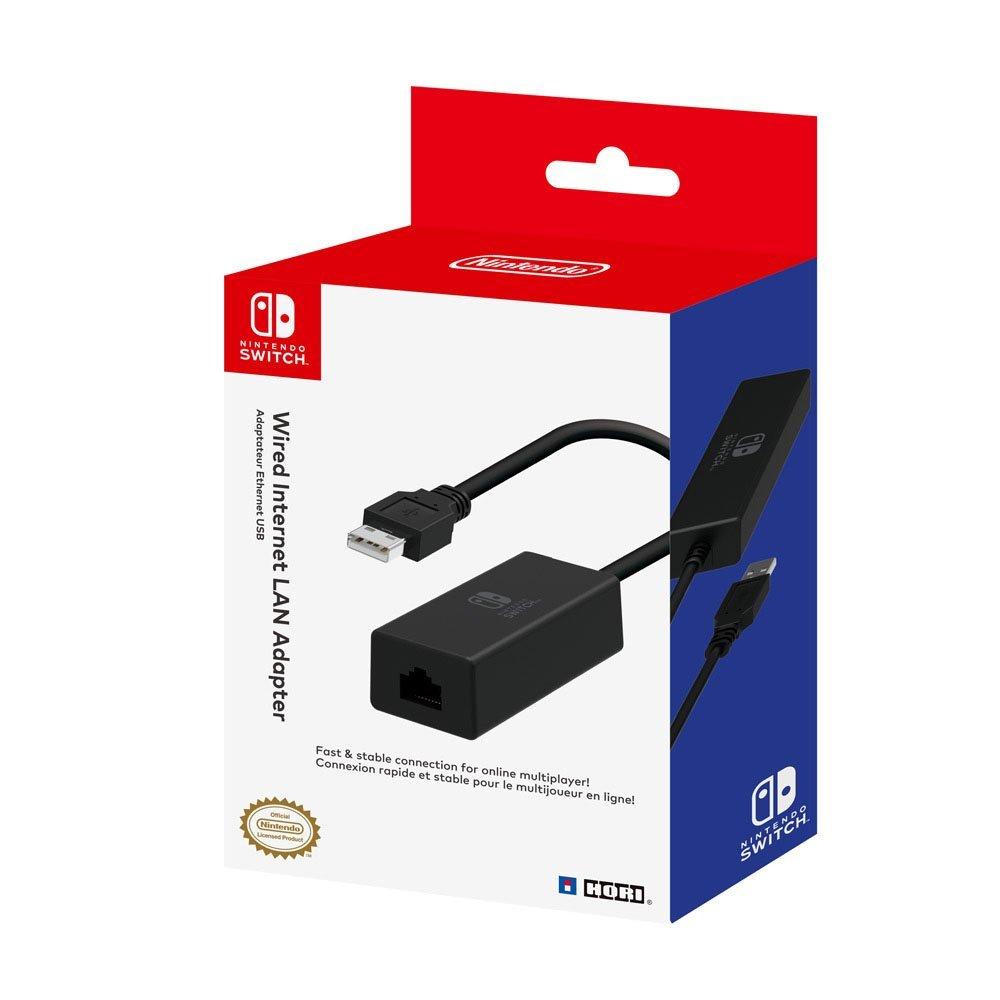 Lan Adapter, HORI - Wii/WiiU/Switch