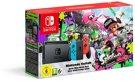 Grundgerät Nintendo Switch, 32GB, rot/blau inkl. Splatoon 2