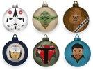 Heim Deko - Star Wars Empire Strikes Weihnachtsbaumkugeln