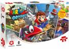 Puzzle - S. Mario Odyssey Traveler (500 Teile) inkl. Poster