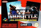 Full Throttle All-American Racing, gebraucht - SNES