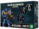 Warhammer 40.000 - SM Assault Intercessors & Paint Set ETB