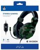 Headset Stereo Gaming, V3, green camo, BigBen - PS4/PS5