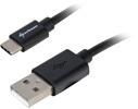 USB auf USB Type C Ladekabel 3,0m, schwarz, Sharkoon - PS5